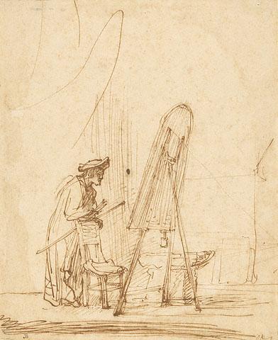 Rembrandt Sketching_12.15.09