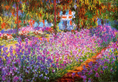 Claude-monet-the-artists-garden-at-giverty-19002