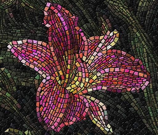 Mosaic_lily