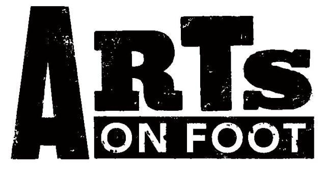 Arts on Foot logo