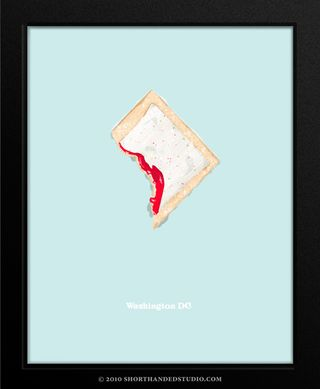 John Holcomb Washington DC as a pop-tart