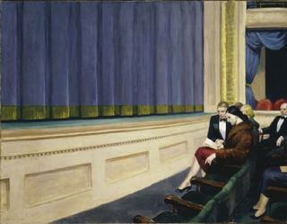 Edward Hopper, First Row Orchestra, Hirshhorn Museum