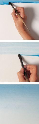 Watercolor-wet-gradiated-wash