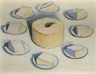 Wayne Thiebaud Around the Cake