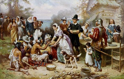 Jean Leon Gerome Ferris, The First Thanksgiving