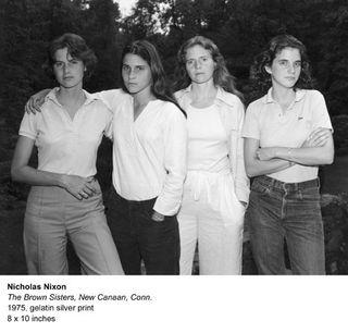Nicholas Nixon, The Brown Sisters 1975