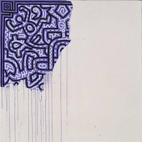 Keith Haring - Unfinished Painting