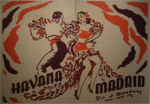 Havana tapastry