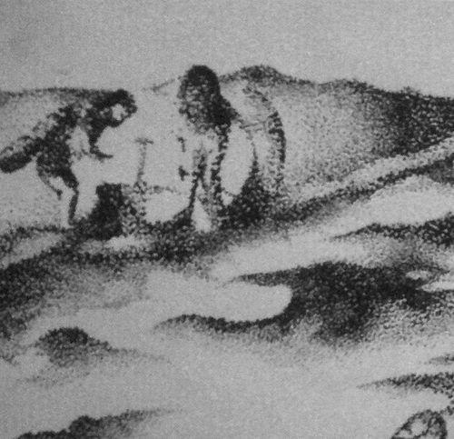 Pointillism close up pic