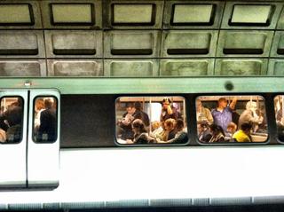 Rush hour metro