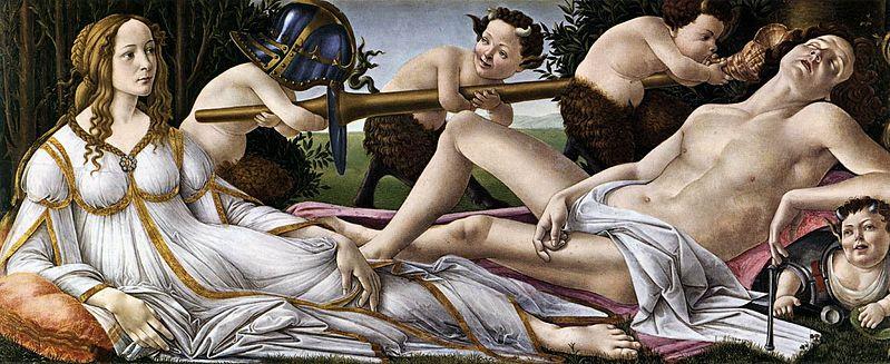799px-Sandro_Botticelli_-_Venus_and_Mars_-_WGA2776