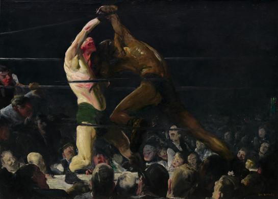 Both members of this club, George Bellows