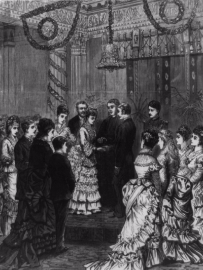 Nellie Grant's Wedding Ceremony