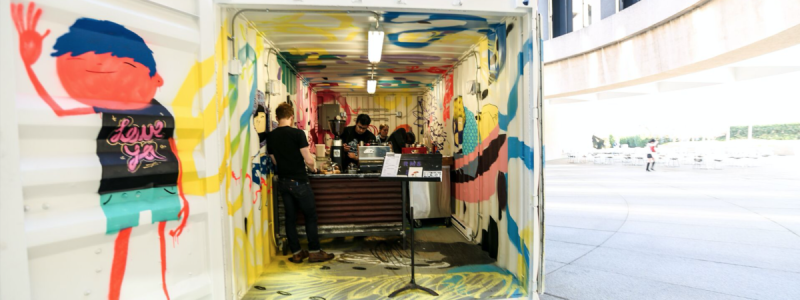 Hirshhorn's Pop Up Cafe