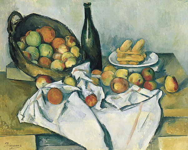 602px-Paul_Cézanne,_The_Basket_of_Apples