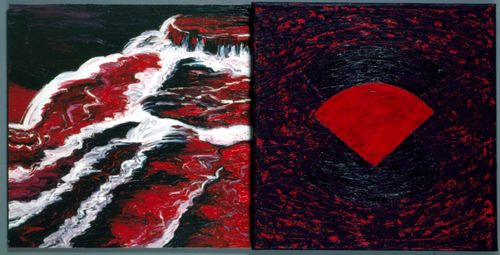 The_Abyss_painting_1989_by_Kay_WalkingStick