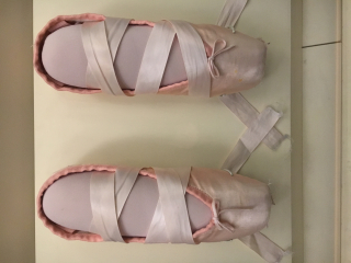 Chelsea Clinton's ballet shoes