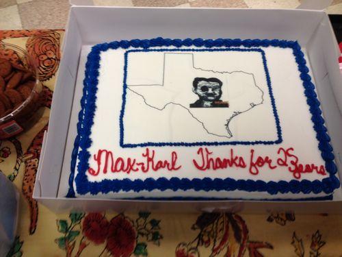 Max's cake